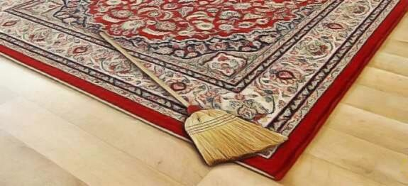 Comment nettoyer un tapis rem des de grand m re - Comment nettoyer un tapis a frange ...
